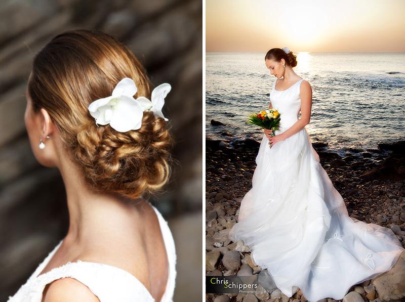 Voorbeelden bruidskapsel door Bella Today